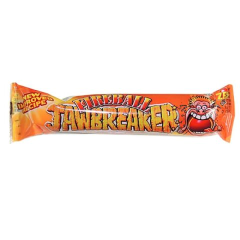 Fireball Jawbreaker 4 Pack Zed Candy Novelty Bubblegum Sweets